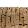 Mini Regaliz® CORK NATURAL (black design) - per 1 meter