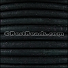5mm round CORK DARK TEAL - per 10m SPOOL