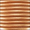 4.5mm round Euro leather METALLIC BRONZE - per 20m SPOOL