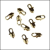 14mm x 5mm Oval Lobster Clasp GOLD - per 100 pieces