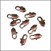 14mm x 5mm Oval Lobster Clasp ANT COPPER - per 100 pieces
