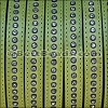 10mm flat CRYSTAL leather LIME GREEN - per 1 meter