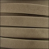 10mm flat ARIZONA leather TAUPE - per 2 meters