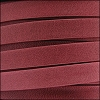 10mm flat ARIZONA leather RED - per 2 meters
