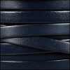 10mm flat leather NAVY - per 2 meters