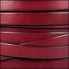 10mm flat leather PLUM - per 2 meters