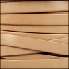 10mm flat leather NATURAL - per 20m SPOOL