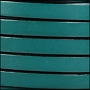10mm flat leather TURQUOISE - per 2 meters