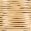 5mm flat ITALIAN DOLCE leather PARSNIP - per 5 meters