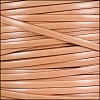 5mm flat ITALIAN DOLCE leather CANTALOUPE - per 5 meters