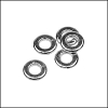 tiny washer bead for 2.5mm cord - per 1000 pieces