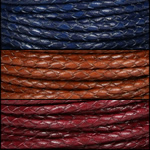 Braided Round Leather