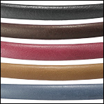 Oval Plain Leather