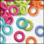 - 7.25mm O-rings -<br>For 5mm round leather