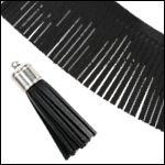 Tassel Fringe Leather
