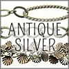 All Antique Silver Finish Chains