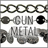 All Gunmetal Finish Chains