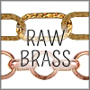 All Raw Brass Chains
