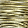 1.5mm round Indian leather - METALLIC tota - per 25m SPOOL
