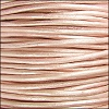 1.5mm round Indian leather - METALLIC suraiya - per 25m SPOOL