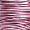 1.5mm round Indian leather - METALLIC fruit punch - per 25m SPOOL