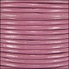 2mm round Indian leather - dusty pink - per 25m SPOOL