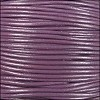 2mm round Indian leather - violet - per 25m SPOOL