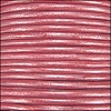 1.5mm round Indian leather - fuchsia METALLIC - per 25m SPOOL