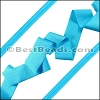 Lycra Ribbon BRILLIANT AQUA - per 10m SPOOL