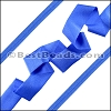 Lycra Ribbon BRILLIANT BLUE - per 10m SPOOL