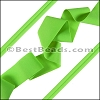 Lycra Ribbon NEON GREEN - per 10m SPOOL