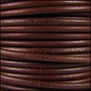 3mm Round Mediterranean Leather WHISKEY - per 20m SPOOL