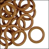 12mm rubber o-rings per 10 pieces TAN