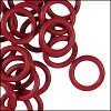 12mm rubber o-rings per 10 pieces BRICK RED