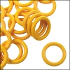 10mm rubber o-rings per 10 pieces LEMON