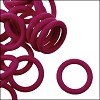 12mm rubber o-rings per 10 pieces CRANBERRY