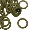 12mm rubber o-rings per 10 pieces KHAKI