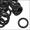 12mm rubber o-rings per 10 pieces BLACK