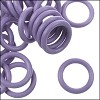 10mm rubber o-rings per 10 pieces PERIWINKLE