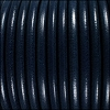 5mm Round Premier Leather NAVY BLUE - per 10 feet
