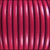 5mm Round Premier Leather FUCHSIA - per 10 feet