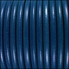 5mm Round Premier Leather BLUE - per 10 feet