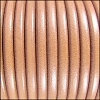 5mm Round Premier Leather NATURAL - per 10 feet