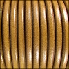 5mm Round Premier Leather MUSTARD - per 10 feet