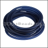 3mm Round PVC cord NAVY BLUE - per 2 meters