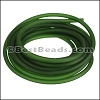 3mm Round PVC cord GREEN - per 2 meters