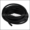 3mm Round PVC cord BLACK - per 2 meters