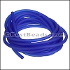 3mm Round PVC cord COBALT BLUE - per 2 meters