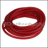 3mm Round PVC cord RED - per 2 meters
