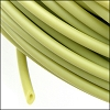 rubber tube 3mm per FOOT FERN GREEN